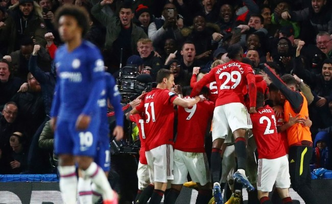 Manchester United Drawn Against Chelsea In Fa Cup Semi