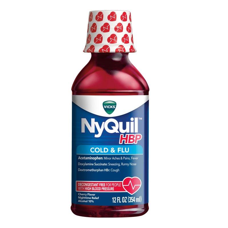 NyQuil™ HBP cold & flu medicine - Vicks - Vicks