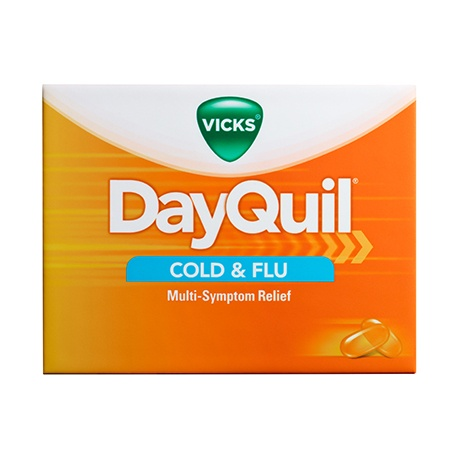 DayQuil™ Cold & Flu Relief LiquiCaps™ - Vicks