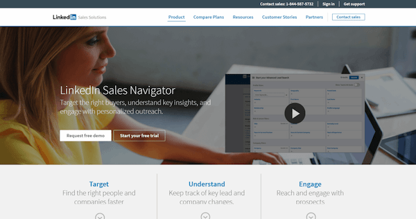 top lead generation tools linkedin sales navigator