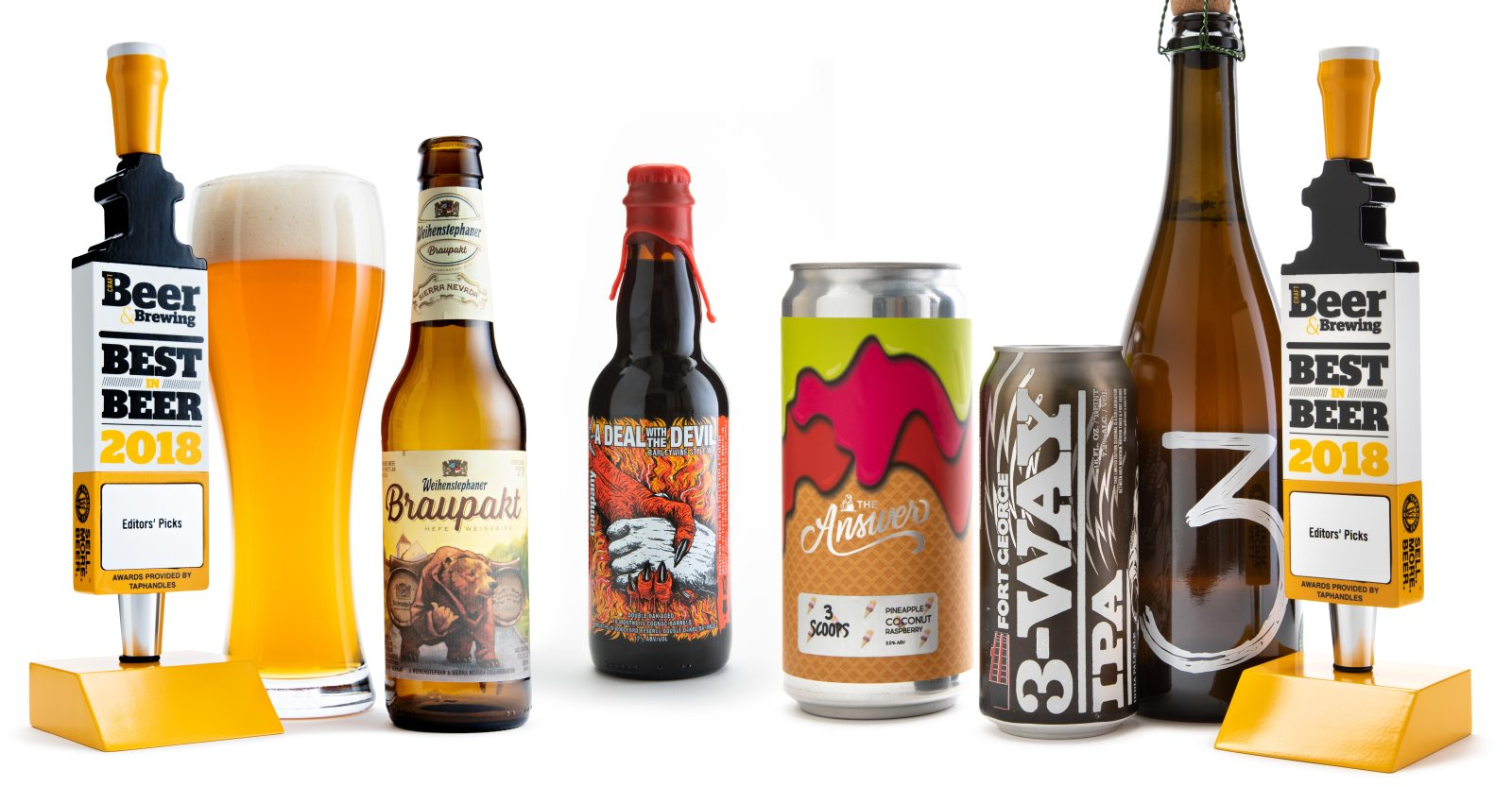 hight resolution of the best 18 beers of 2018