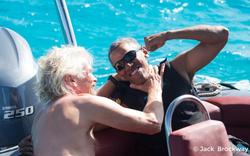 Richard vs Barack - kiteboard and foilboard challenge | Virgin