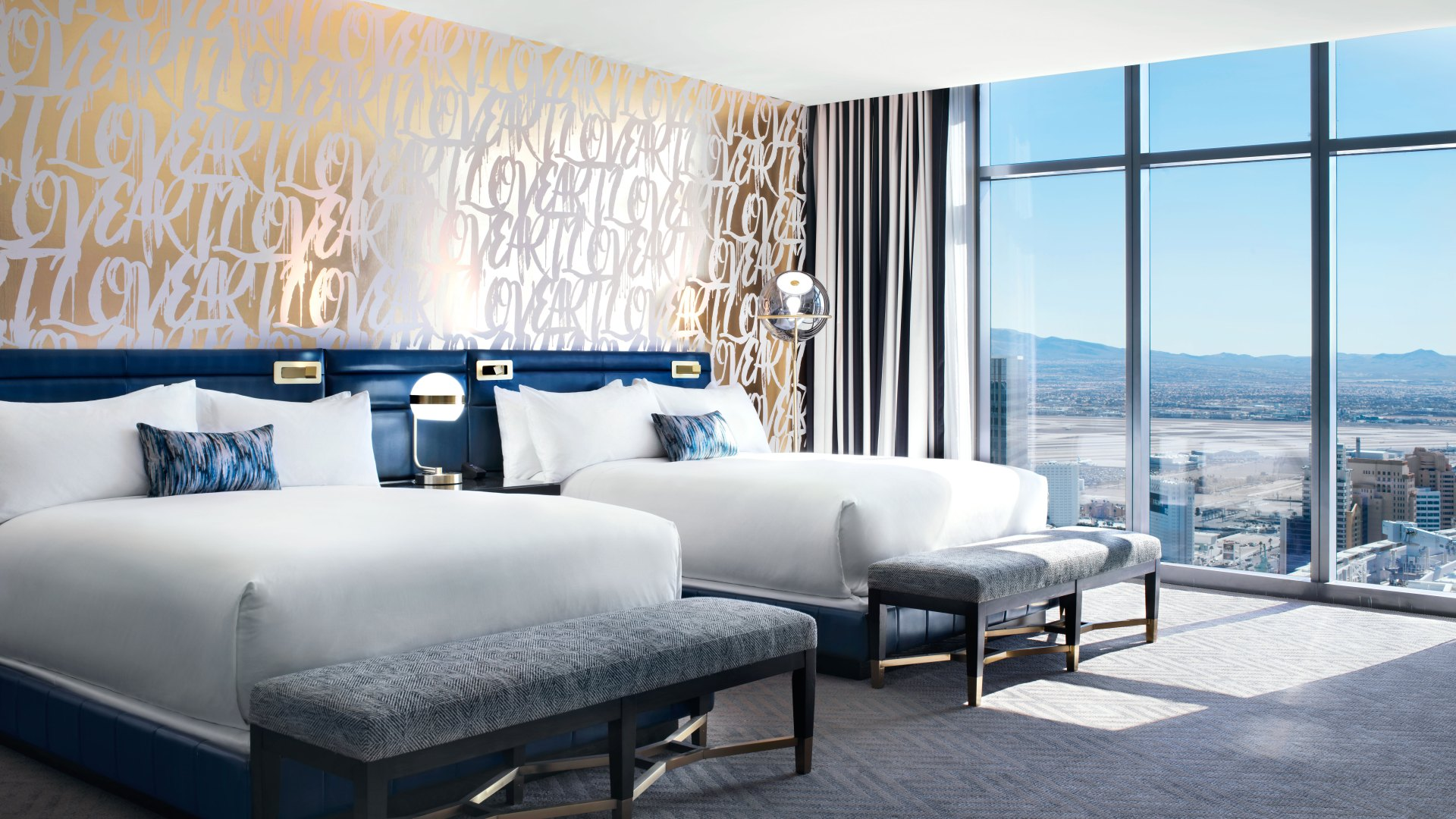 Las Vegas luxury hotel rooms and suites  The Cosmopolitan