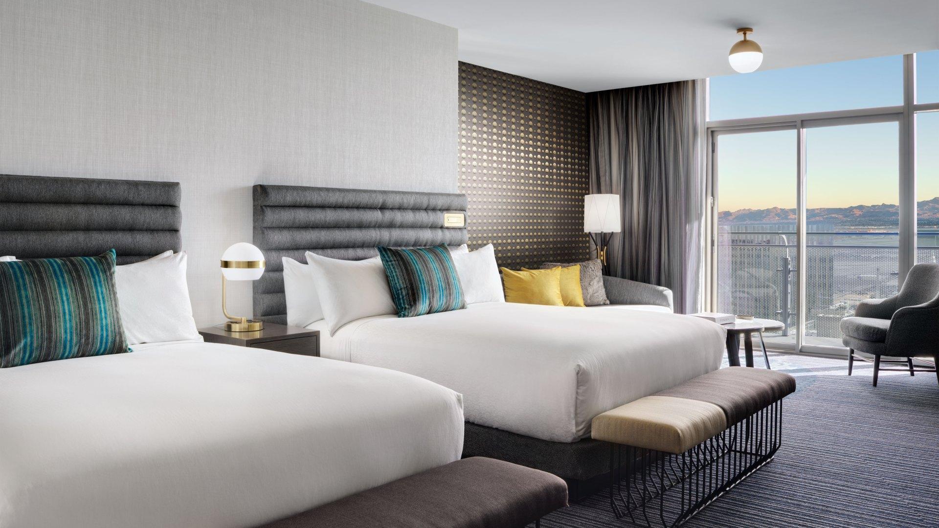 Las Vegas Luxury Hotel Rooms And Suites Cosmopolitan