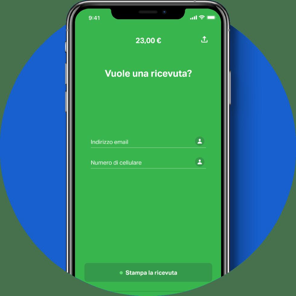 Condividi ricevuta SumUp App