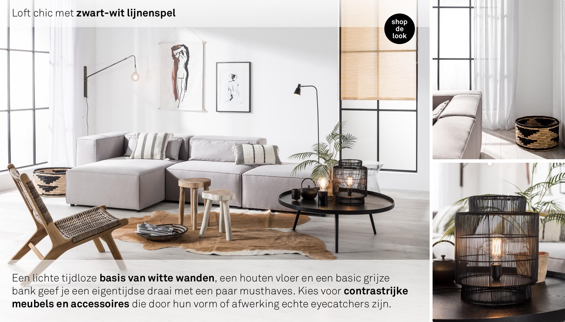 Houten Accessoires Woonkamer : Woonkamer wit zwart hout geke en haar gezin inspiratie voor je