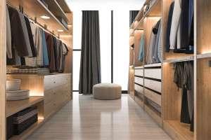 Begehbarer Kleiderschrank DIY » Ankleidezimmer selbst bauen