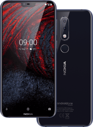Nokia 6.1 Plus Dual Sim-Black