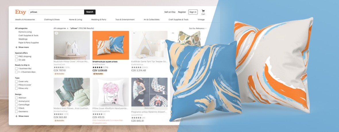 create your first 3d pillow mockup in