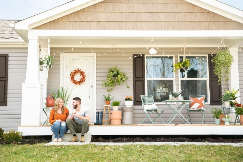Manufactured Home Porches And Patios Clayton Studio | Home Front Stairs Design | Outside Stair | Double Floor | Building | Balcony | Beautiful