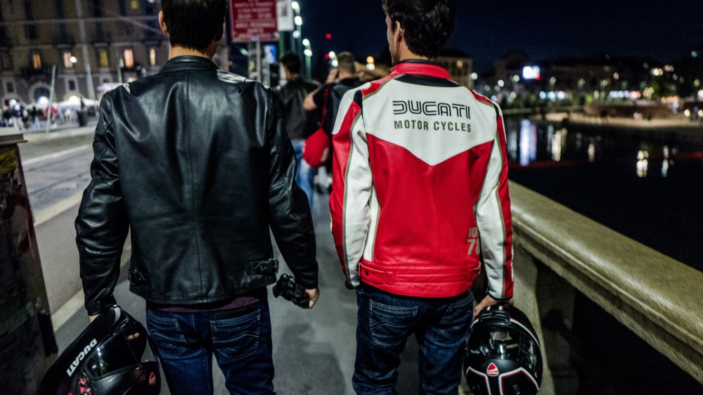 medium resolution of with the ducati apparel collection freedom and security apparel blend in the unmistakable style of a unique story