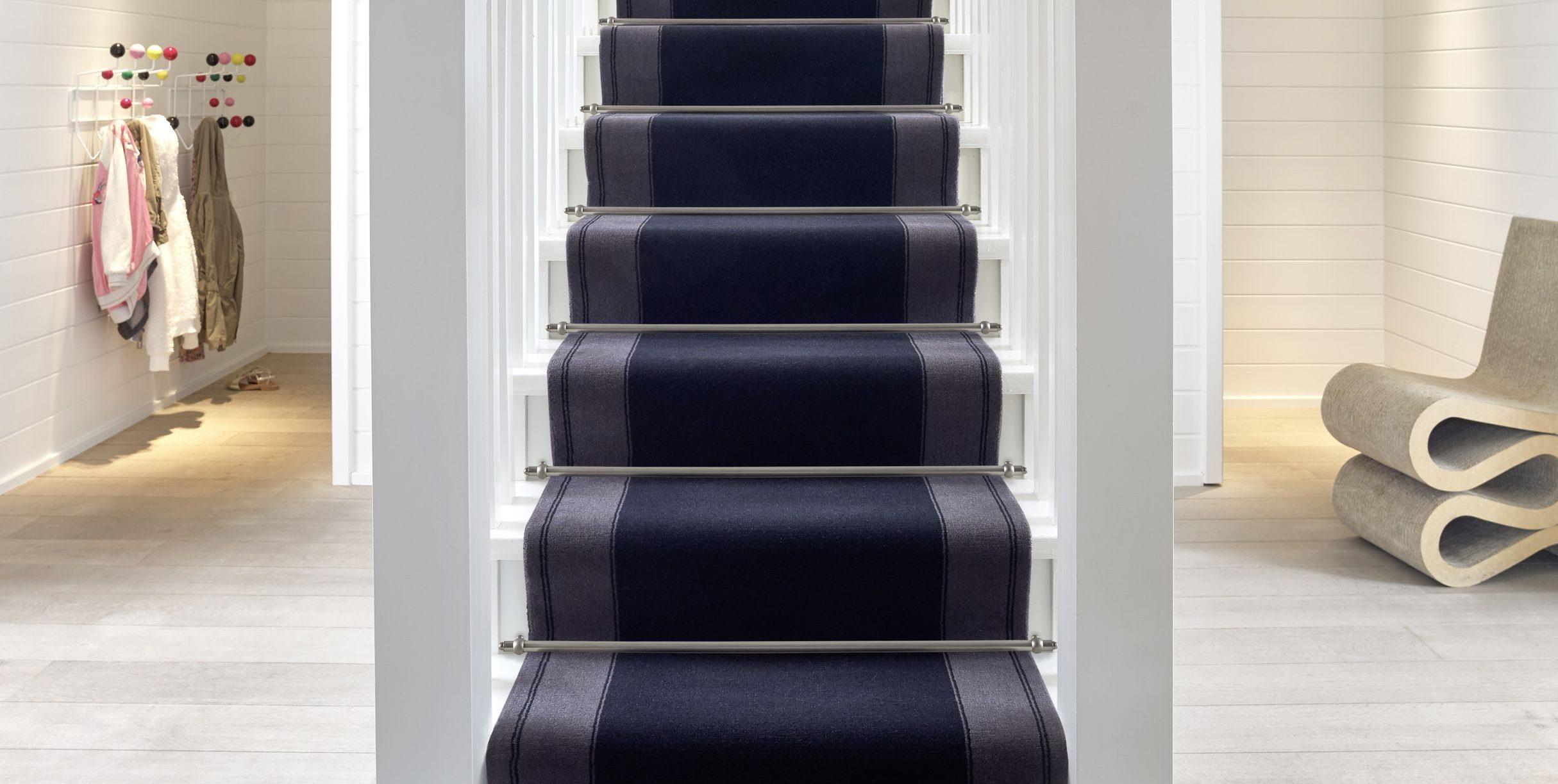 habiller son escalier avec une moquette