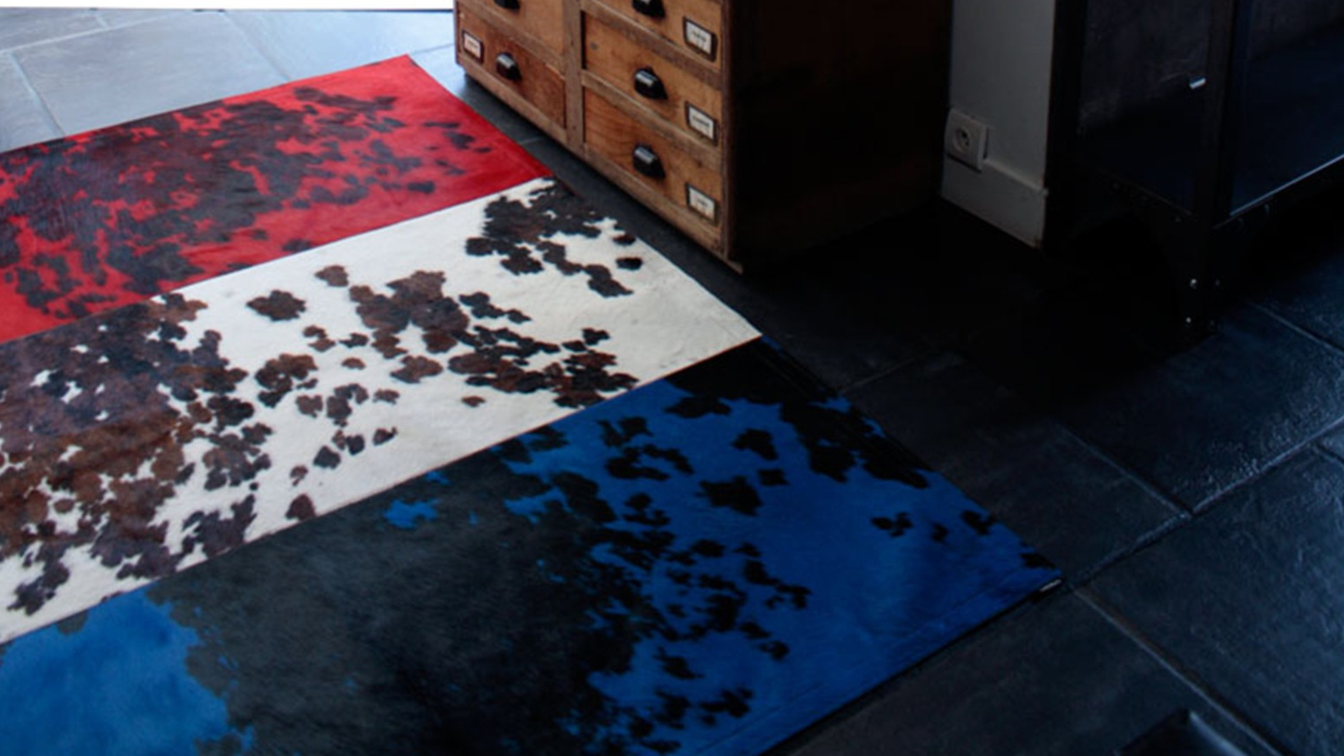 les tapis en peaux se reinventent