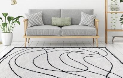 tapis contemporain haut de gamme