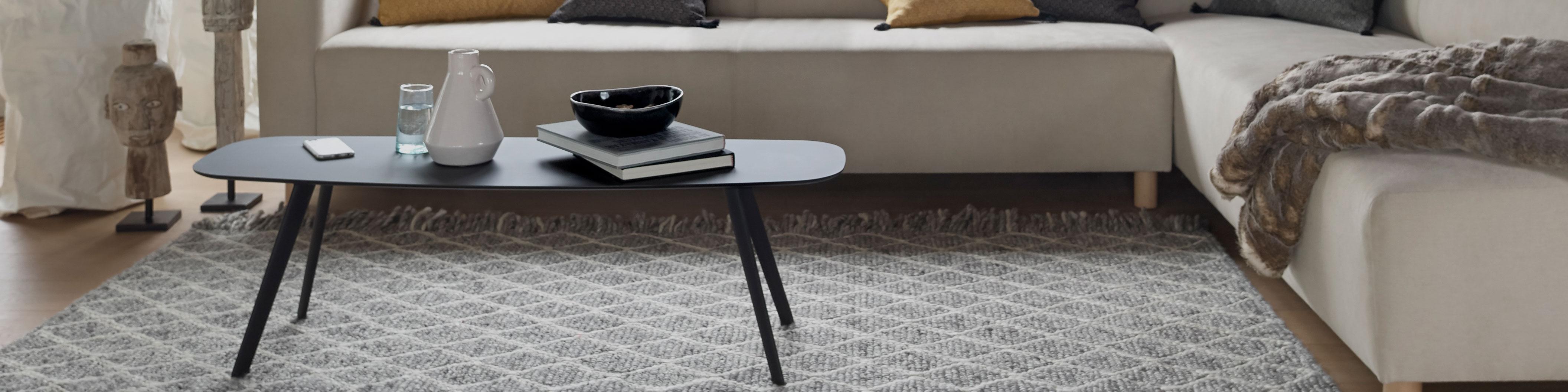 tapis gris tapis noir et blanc tapis graphique tapis gris clair ou fonce salon saint maclou