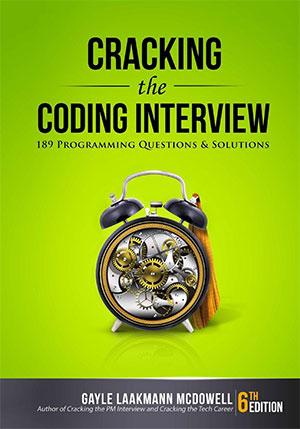 Cracking the coding interview book cover the best software engineering books