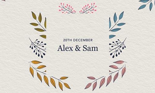 Online Wedding Invitation Template Typeform Templates