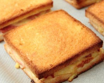 Recette croque monsieur  Les meilleures recettes sur CuisineAZ