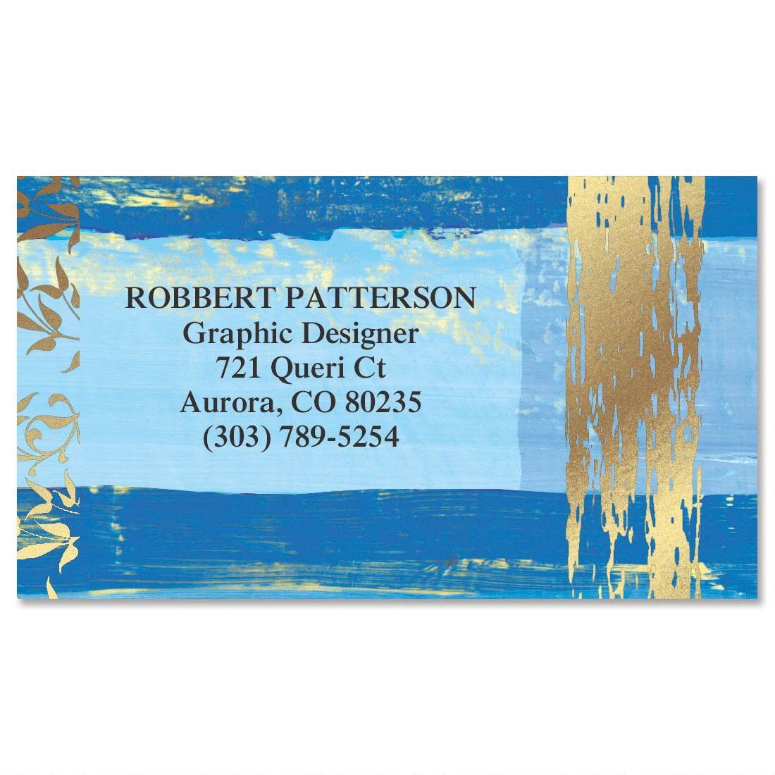 Impressions Foil Calling Card Current Catalog