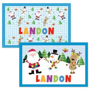 kids placemats personalized placemats