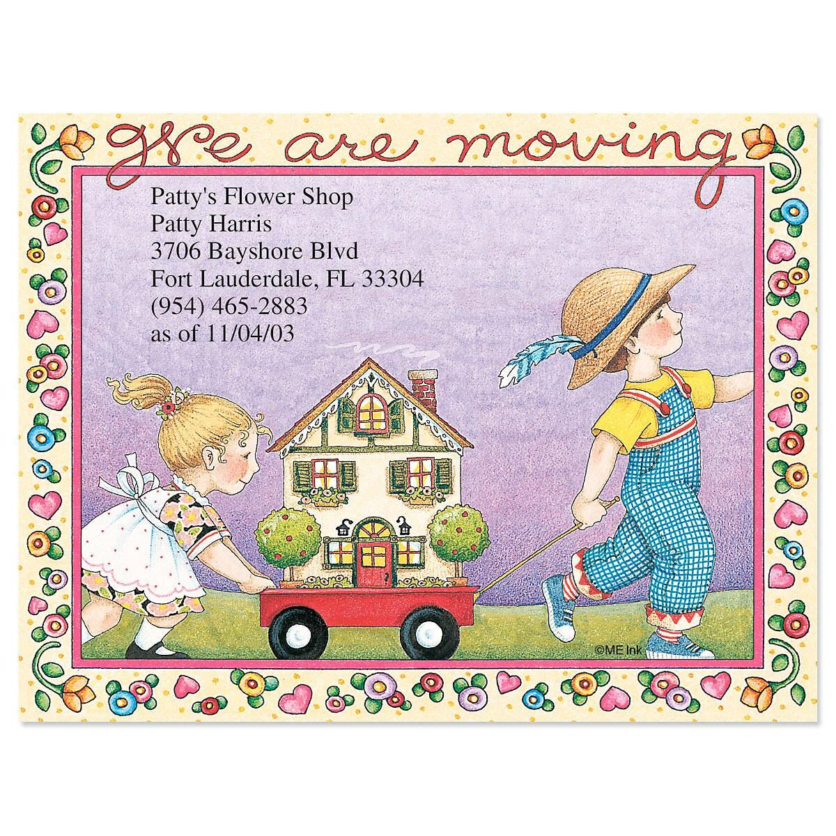 We Are Moving New Address Post Cards Current Catalog