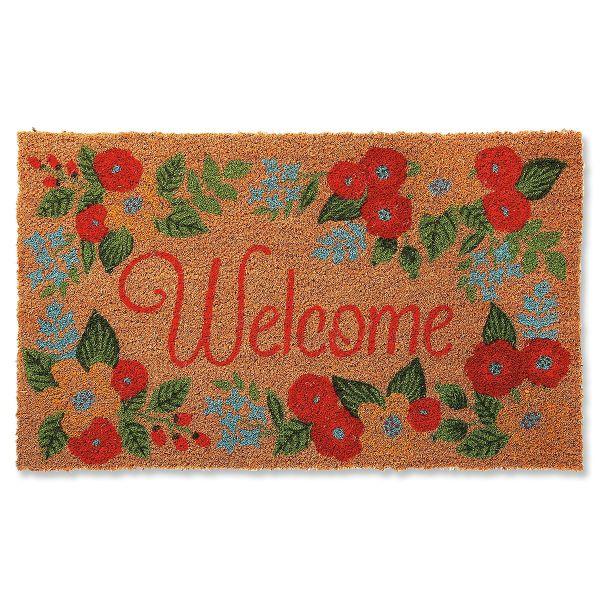 Floral Coir Doormat Current Catalog