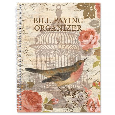 Parisian Postcard Bill Paying Organizer Current Catalog