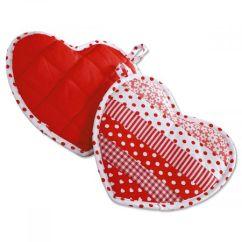 Kitchen Hot Pads Countertop Organizer Heart Shaped Valentine S Day