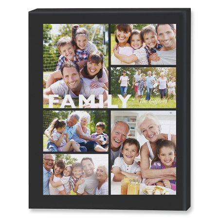 family collage canvas photo