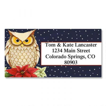 winter owl border address