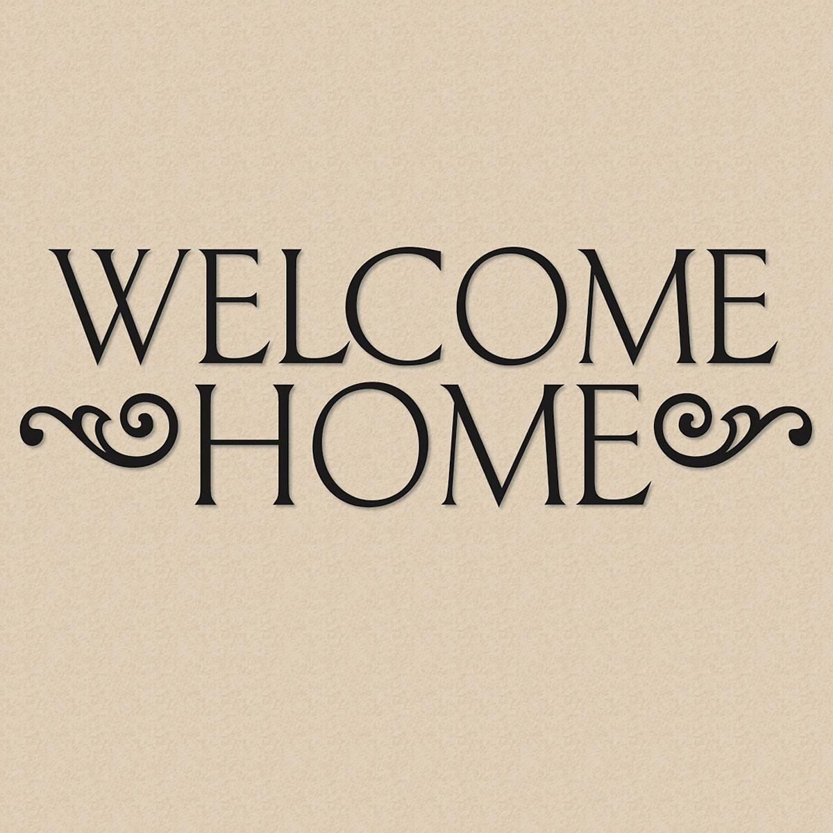 Welcome Home Vinyl Wall Words Current Catalog