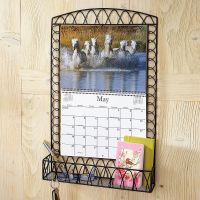 Black Wire Metal Calendar Holder | Current Catalog