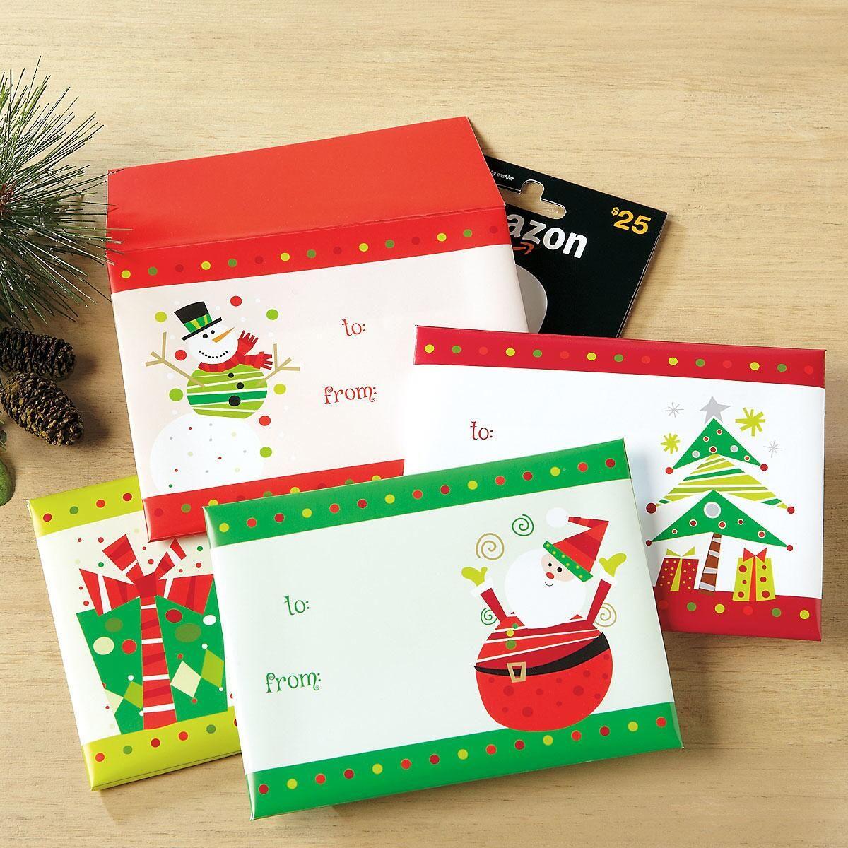 Festive Gift Card Envelopes Current Catalog
