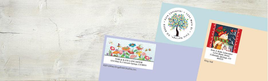 address label designs plain