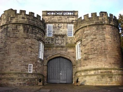 Hand Crafted Gatehouse Iron Gates Skipton Castle 11th