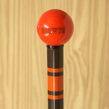 Buy a Custom Nfl Walking Cane College made to order from Walking Cane Company  CustomMadecom
