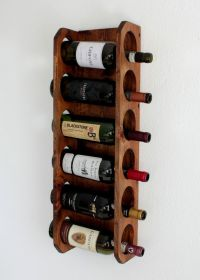 Buy a Hand Crafted Wall-Mounted Wine Rack,Vertical Wine ...