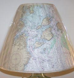 custom made custom made nautical chart lampshade [ 1600 x 1200 Pixel ]