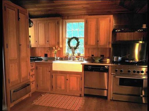 Custom Made QuarterSawn White Oak Kitchen by W D Bosworth