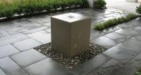 Hand Crafted Acid Washed Concrete Fountain by Crump and ...