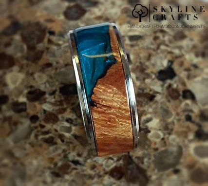Buy A Hand Crafted Maple Cast Wood Resin Hybrid Ring 316