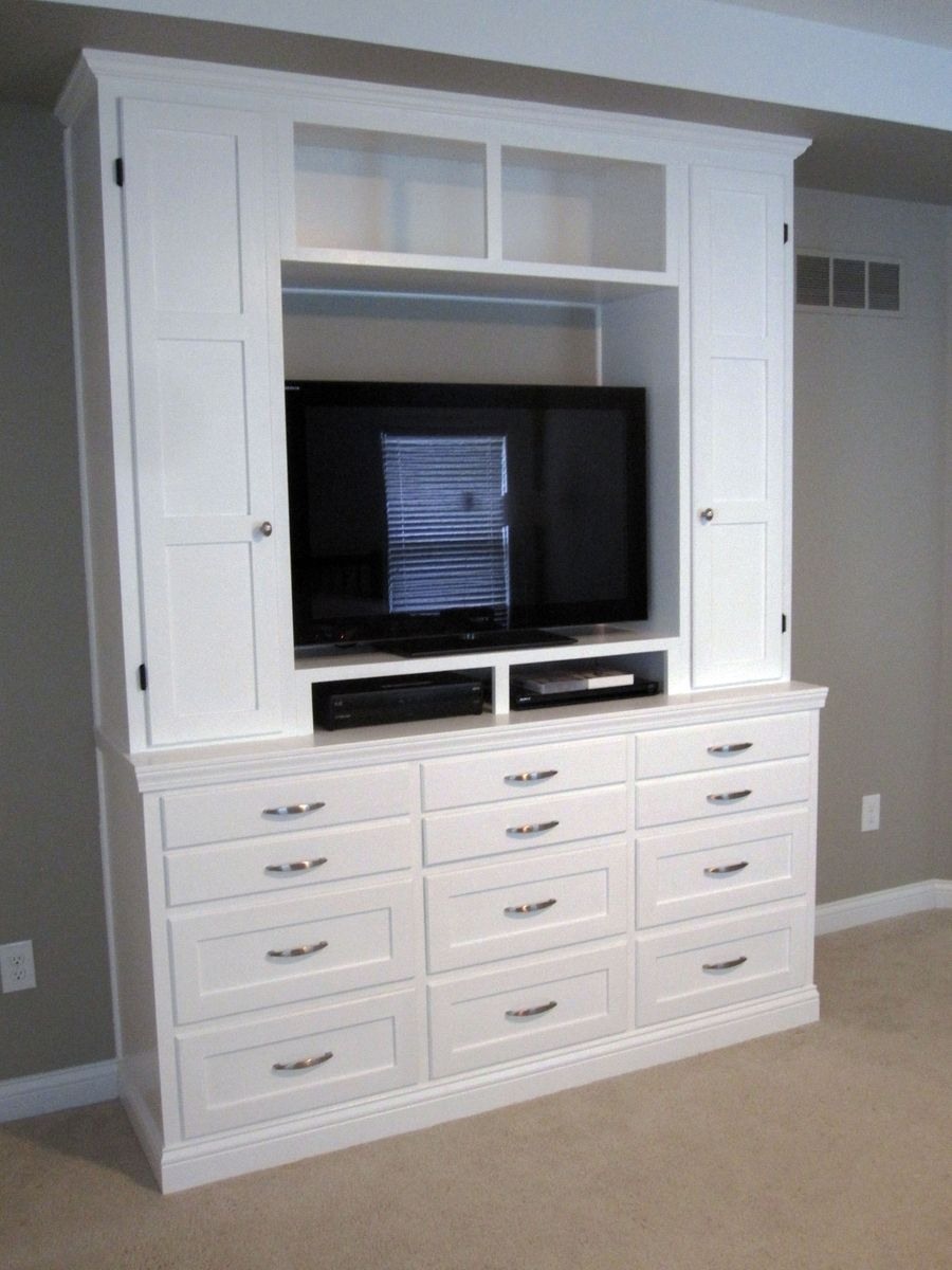 Handmade Bedroom DresserEntertainment Center by Boltonwoodworking  CustomMadecom