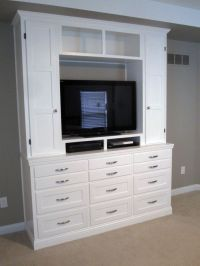 Handmade Bedroom Dresser/Entertainment Center by ...