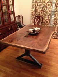 Hand Made Live Edge Dining Room Table by Southern Wood ...