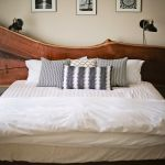 Hand Crafted Natural Edge Walnut Bed King Size By Appalachian Joinery Custommade Com