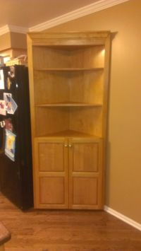 Custom Made Corner Cabinet by Fearons Fine Woodworking ...