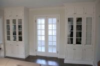 Hand Made Double French Doors And Matching Built-Ins by ...
