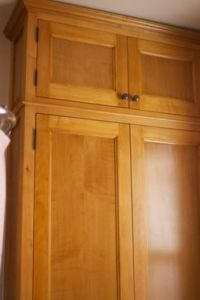 Custom Maple Bathroom Cabinetry by Mann Designs ...