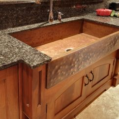 Farm House Kitchen Sink Www Designs Layouts Hand Crafted Mcnabb Style Copper By North Shore