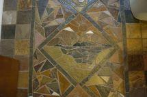 Hand Crafted Slate Mosaic Floor Vandorn Turpen